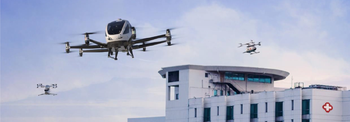 Europe launches large-scale demonstrations for medical drones
